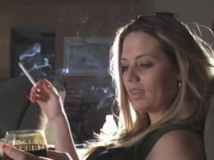 smoking hottie shannon