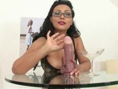 Big Tits MILF Jerk off Instructions, Free Porn 36