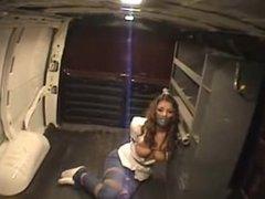 Tied up in a van
