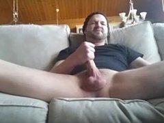 Faggot jacking to cunt