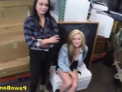 Pair Of Dykes Take Cock For Cash