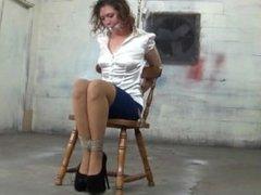 crossed legs tied up