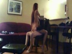 Hot French Secretary Likes To Watch Herself Fuck On Cam