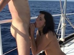 Boat captain humps anal and vaginal 4 hotties