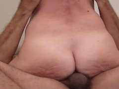 Anal milf in extreme close up. Thelma from 1fuckdate.com