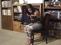 chair tied bondage beauties
