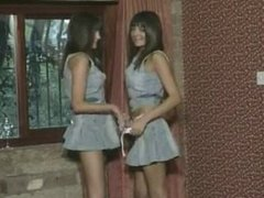 Ravishing twin teenys