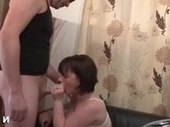Marci from 1fuckdate.com - Amateur french couple doing anal s