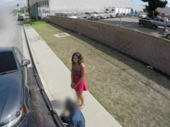 Bad Tow Truck - Brunette cheats on bf for a tow