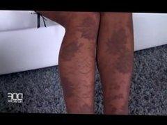 Hot babe foot fetish masturbation