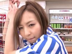 ( hntimes.com ) Jessica Kizaki babe nice cashier sucks fucks in store part1