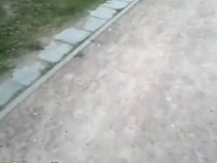 Busting Teens Fucking In The Middle Of The Park
