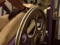Muscle studs gym senual massage