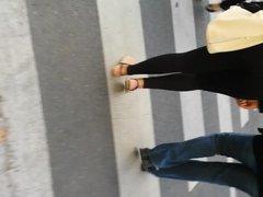 Paris black thong