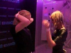 Hot pornstars dancing in the club