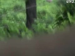 Bangla desi big ass lady comes for nature cal