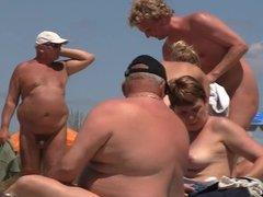 sexy physique women at cap d agde nude beach