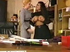 In the Office a Big Tits - fuck me on dom-match.com
