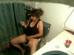 Hidden Toilet Masturbation
