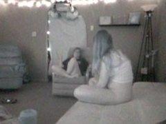 Hidden Lesbian Masturbate Watching Porn - Part 2