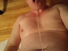 Pissing in my mouth & drinking my own piss in slowmotion+full audio