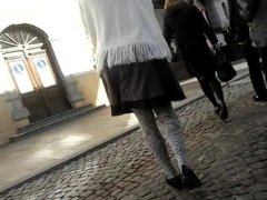 spy milf in fashioned pantyhose