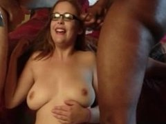 Loraine from 1fuckdate.com - Amateur blonde threesomes cumshot