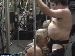 Couple took over a bdsm sex shop and try every toy