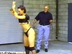 Mallory Stripped and Whip - write her at dom-match.com