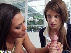 Stepmom Rachel Starr teachs Dillion Carter