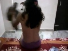 Tamil girl stripping