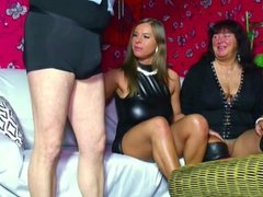 Mom and Dad Seduce Young Step-Daughter