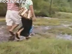 Hot Thai sex in Public