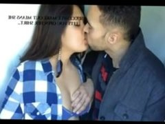 boyfriend kiss and pressing boob 2