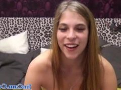 Beautiful girl private webcam show