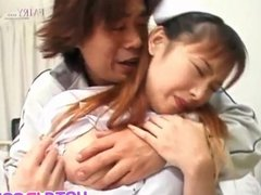 Rina takes cock in mouth and in pussy