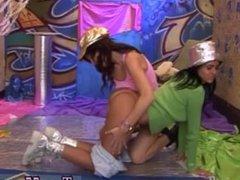 Naked indian girl sex teenage Hairy Kim and bald Janet