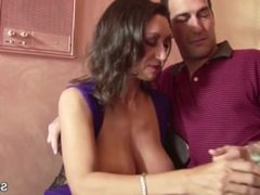 Big Natural Tits MILF From SEXDATEMILF.COM get her Hairy Puss Fuck Hard