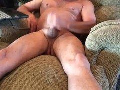 Masturbating for fun