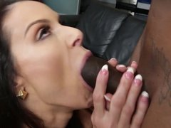 Kendra Lust big black cock interracial action