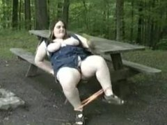 Micah from 1fuckdate.com - Amateur bbw banana play on park be