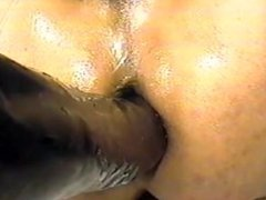 Big black dick slow motion close up in my ass only anal fuck.