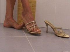 Simone S. takes a hot bath in sexy mules @ FILF24 Trailer