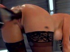 Machine fucks a hot MILF hard From LOOK4MILF.COM, multiple squirting orgasm