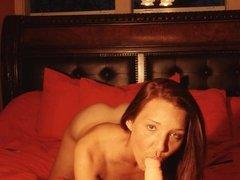 Christina rubber penis sex 03
