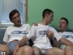 Felching Ass Threesome