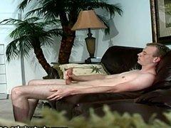 Teen Trae Spencer Stroking His Hard Cock