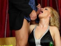 Glam eurobabe groupsex with piss fetish babes