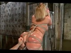 DZ MATURE BBW From LOCALMILF.INFO BDSM TIED UP PART 2