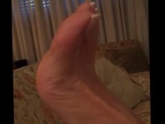 Asian Chick Sexy Long Toenails